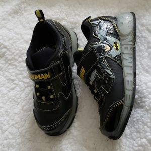 Boys Batman Light Up Shoes
